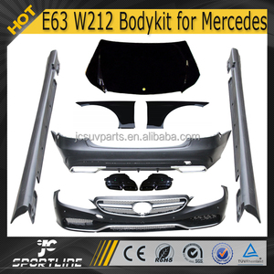 E63 W212 E Class PP body kit for car 2014 up for Mercedes