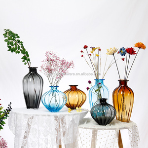 2018 best selling products flower vase/ flower glass vases