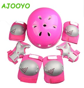 Skateboard Skate Protection Pads Set with Helmet for Kids Youths BMX/Scooter/Cycling/Roll