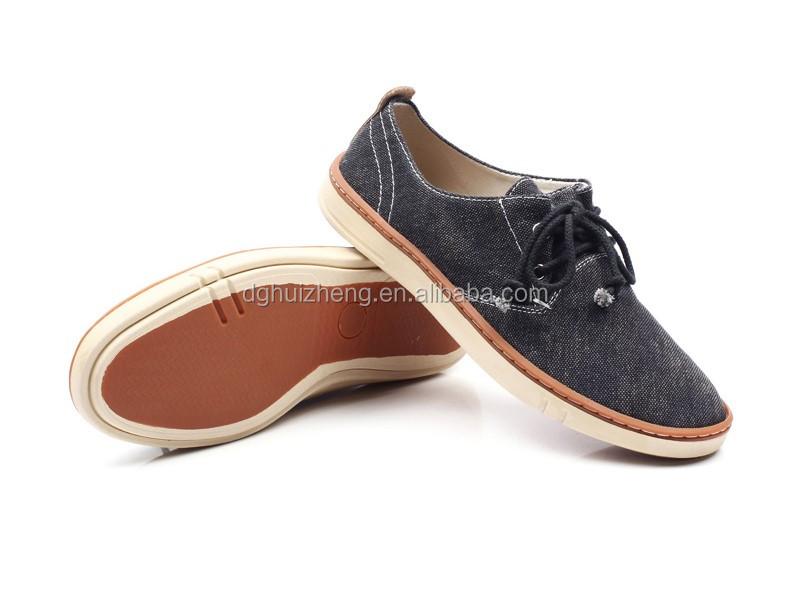 2017 china black canvas shoes wholesale stylish slip on