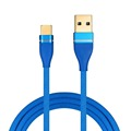 2018 shenzhen usb cables 2.4A braided nylon braided micro usb cable