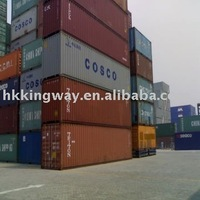 all kinds of shipping container size