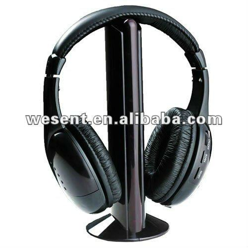 cheapest factory price china headphones with FM radio wireless net chat