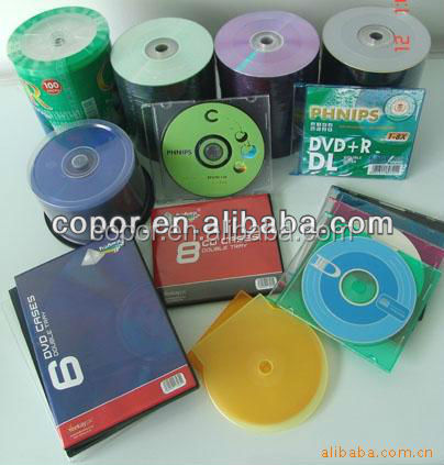 colorful sea shell box for cd and dvd single packing