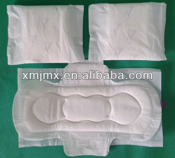 cheap price super thick women sanitary pads for day and night use