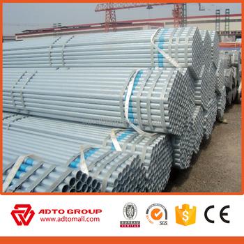 Tubi In Ferro Zincato Usati.Produzione Di Tubo Di Acciaio Zincato Prezzo Di Usato Ferroviario