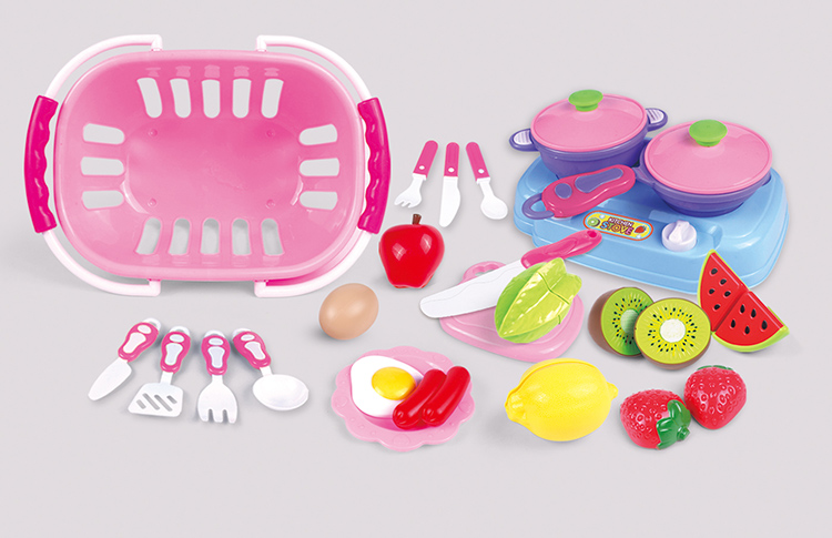China factory private label educational pretend toy kitchen play for children