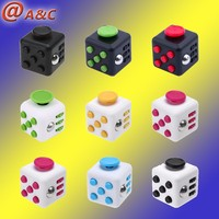 Alibaba Best Supplier Anti Stress Toy Gliding Fidget Cube, Alibaba Best Manufacturer Stress Cure Toy 6 Sides Cube&