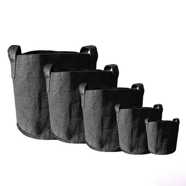 Низкая цена 5 7 10 15 20 30 галлон переработанный Войлок садовые плантаторы расти сумки для дома