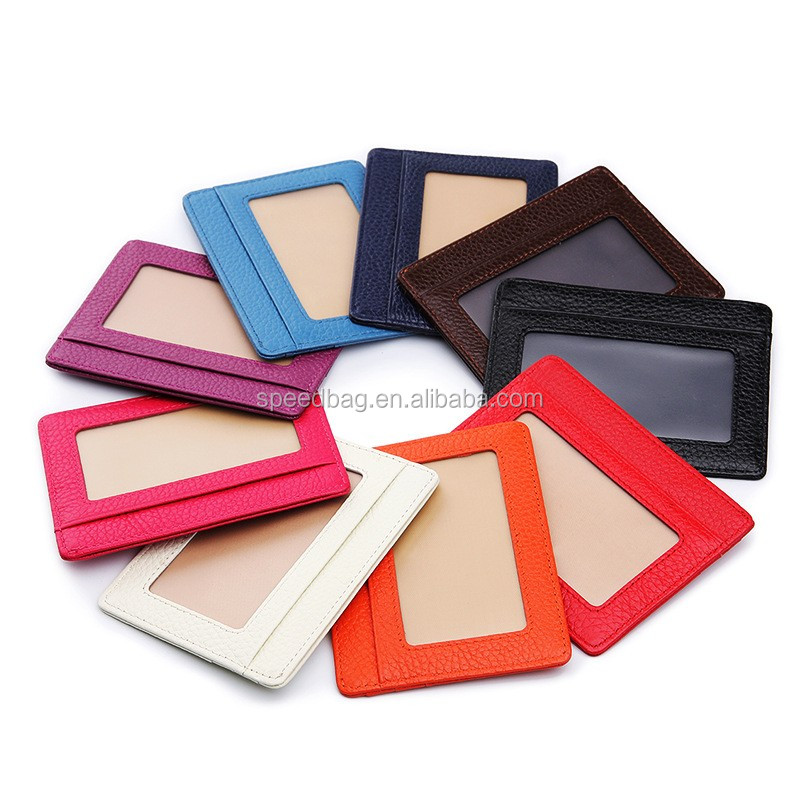 Colorful business card collector commercial tool ID card holder