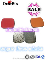 SALE tin packaged sugar free various flavour refreshing candy mints candy