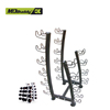 Power Rubber Dumbbell Rack For 10 pairs