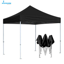 Custom Black 3x3 5x5 10x10 Instant Pop-Up Gazebo Luifel Tent voor Camping