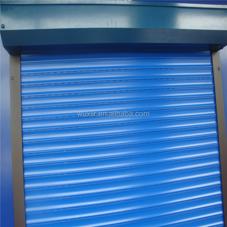 Exterior Automatic Aluminum Roller Shutter High-speed Insulated Rolling Blinds