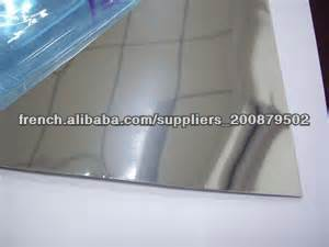 Feuille r fl chissante en aluminium poli miroir planches d - Aluminium poli miroir ...