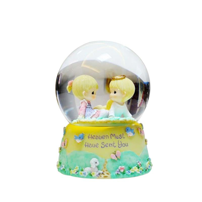 Custom high quality resin italy sicilia souvenir snow globes for sale