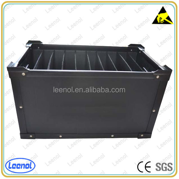 ESD corrugated box for electronic packing