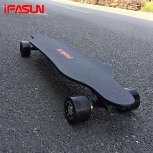2017 New Christmas Gift 1600W Large Power Electric LongBoard Wheels Deck Trucks Complete Electric Skateboard Longboard