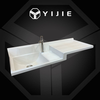 Commercial double sink bathroom vanity japan style sink bathroom cabinet round