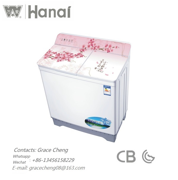 WANAI 10kg twin tub washine <strong>machine</strong> XPB100-108S-16 plastic cover <strong>semi</strong> <strong>automatic</strong> washine <strong>machine</strong> factory supplier