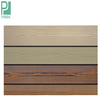 Wood Grained Fiber Cement Board On Foundry Service & Supplies