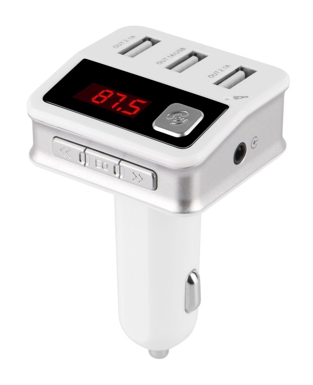 Get Quotations · Jiayana User Manual Bluetooth Car Charger Wireless  Bluetooth In-Car FM Transmitter Car Radio Adapter