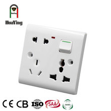 13A one switch with various uses plug multi function receptacle 6 pin multiple plug socket