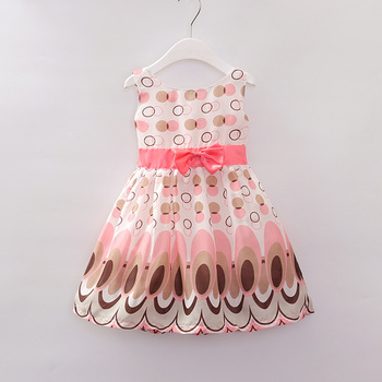 Chinese manufactures children hot sale baby dress design small girls dress casual dresses