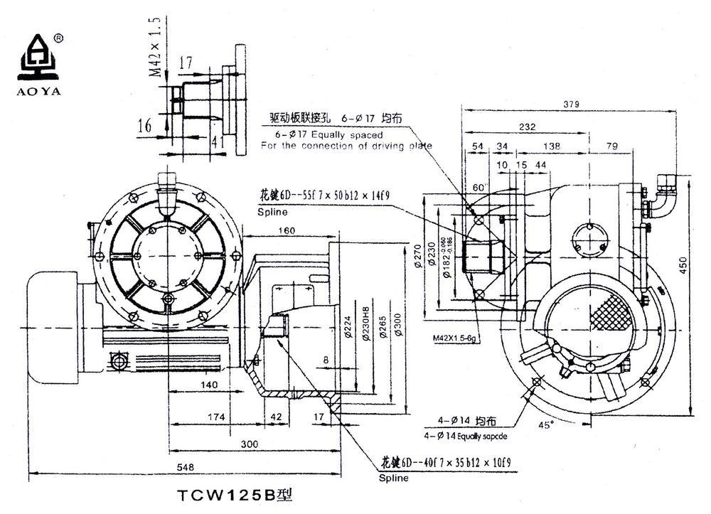 electric fan motor construction tower crane hoist motor