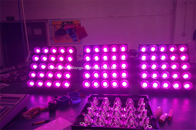 25x30w RGBW 3 IN 1 stage light led tv matrix high quality stage light mixer made in china factory