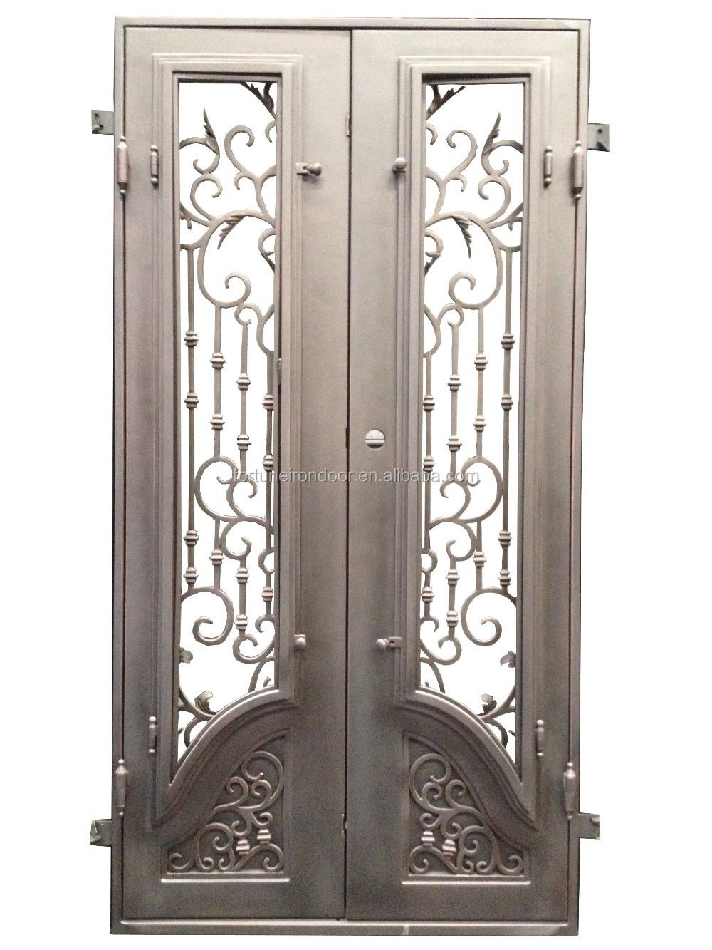 Beau Decoration Des Portes En Fer #6: Rechercher Les Fabricants Des Porte Du0027entrée En Fer Forgé Produits De  Qualité Supérieure Porte Du0027entrée En Fer Forgé Sur Alibaba.com