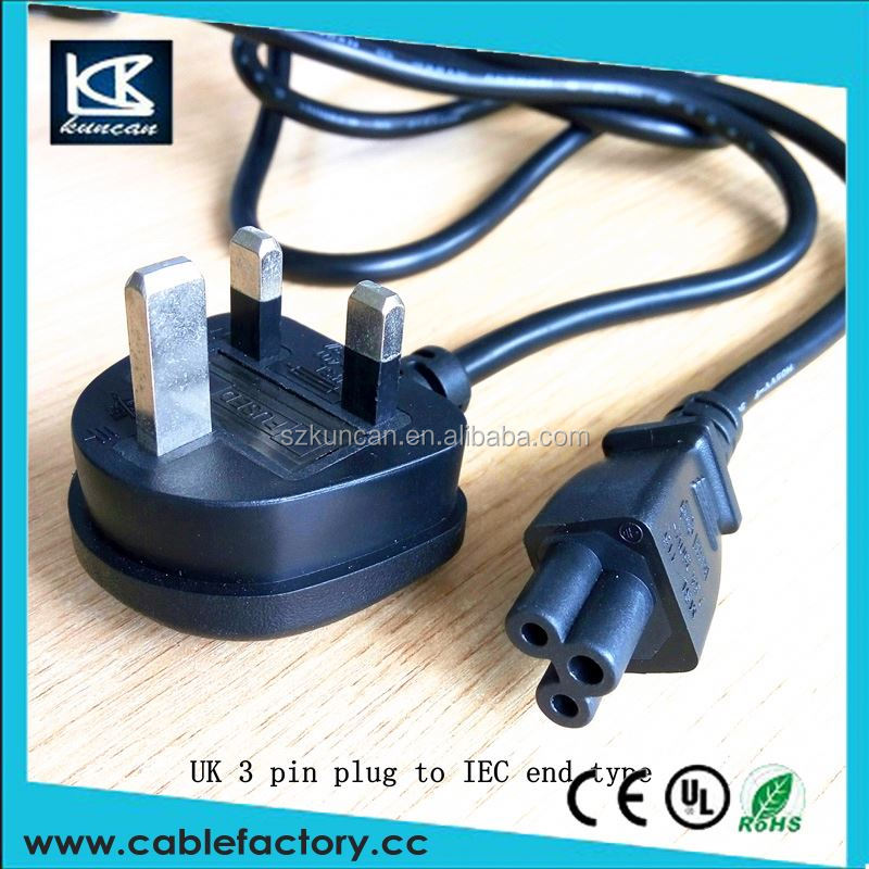 China supplier extension socket bsi uk power cord 13a mains british power cords