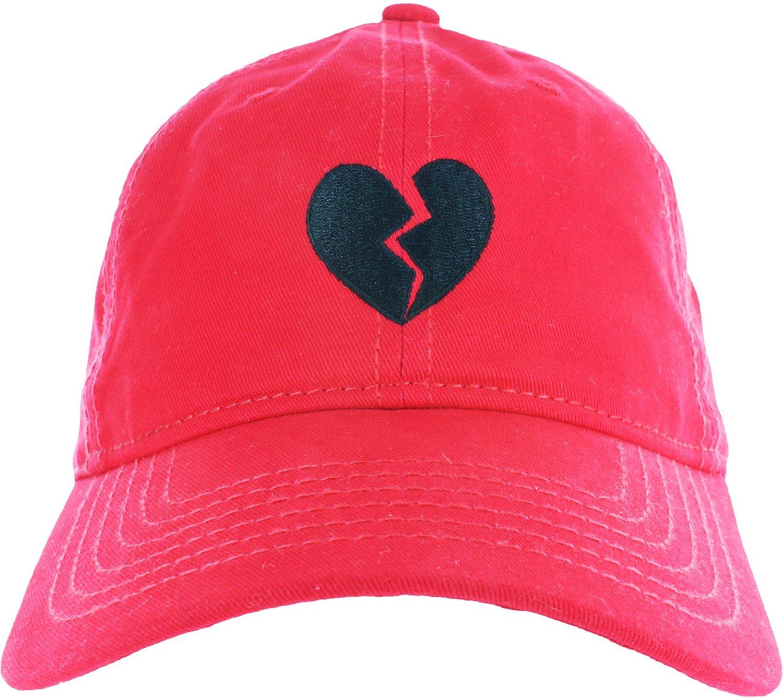 56e6f227362 Buy Dad Hat Cap - Emoji Heart Broken Embroidered Adjustable Baseball ...