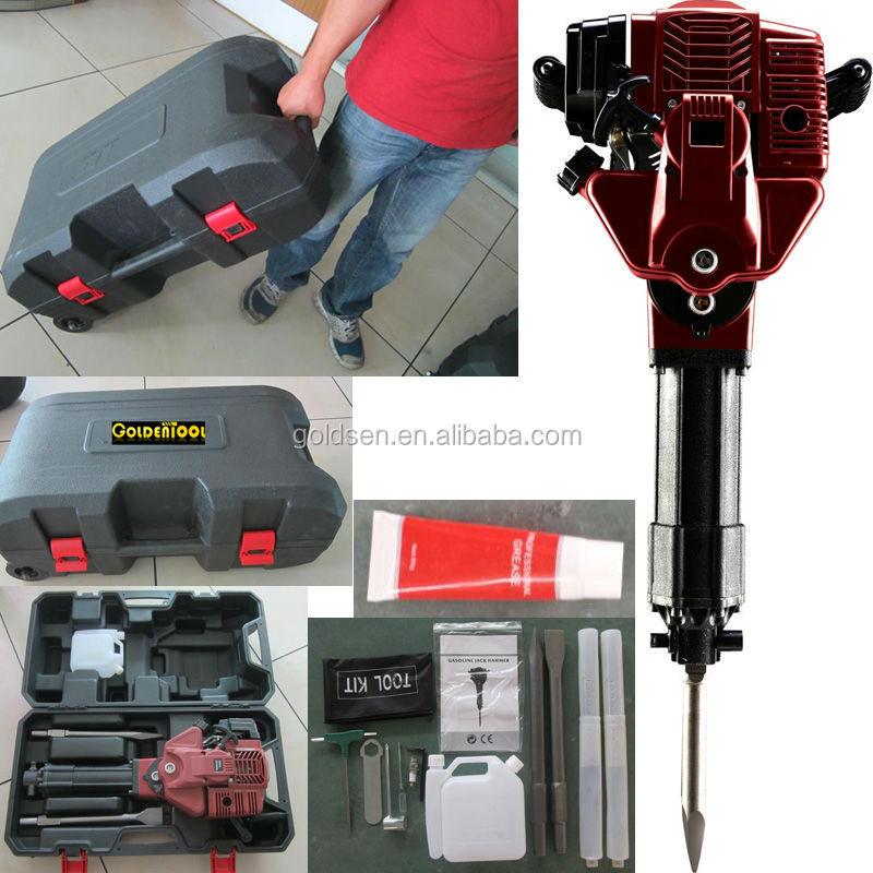 1700w 52cc profi benzin abbruchhammer kleine gasbetriebene presslufthammer elektrischer. Black Bedroom Furniture Sets. Home Design Ideas