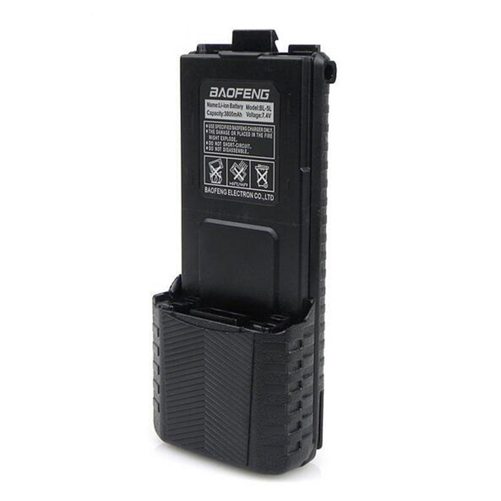 ef26b84de Get Quotations · (5pcs) 7.4V 3800mah Baofeng uv-5r Battery For Radio Walkie  Talkie Parts