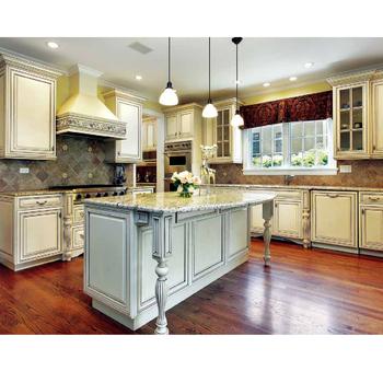 Modern Carousel Skirting Corner Cabinet Kitchen Design