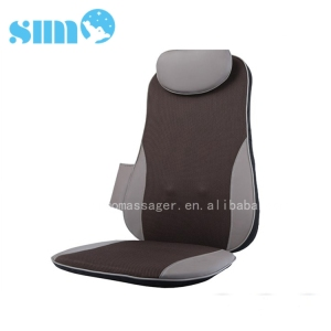 3D Vibrating Seat Cushion Shiatsu and knead Back Massage chair pad for adult  sc 1 th 225 : shiatsu massage chair pad - lorbestier.org