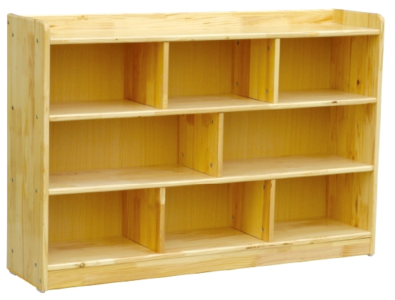 Unfinished wood storage shelves wooden cabinet design