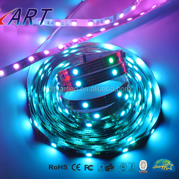 Pure White 6000K 16ft 5050 WS2811 150LED Changing Strip Light 12V Non-waterproof