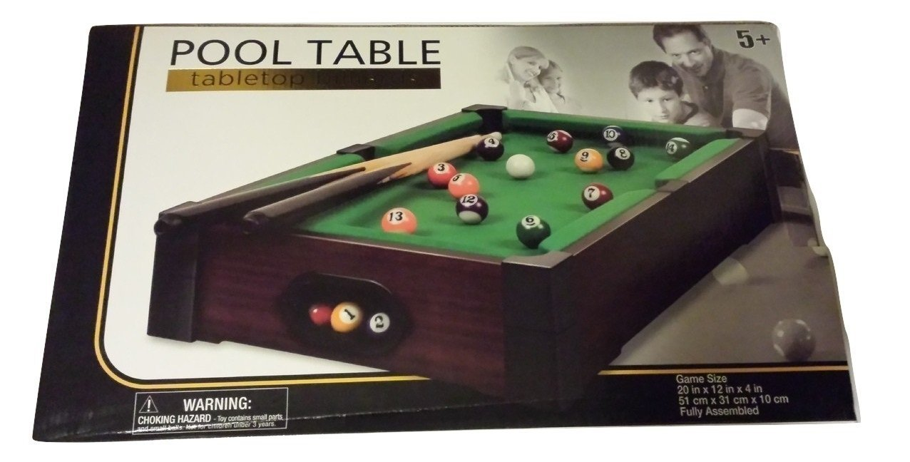 Get Quotations · Pool Table Tabletop Billiards