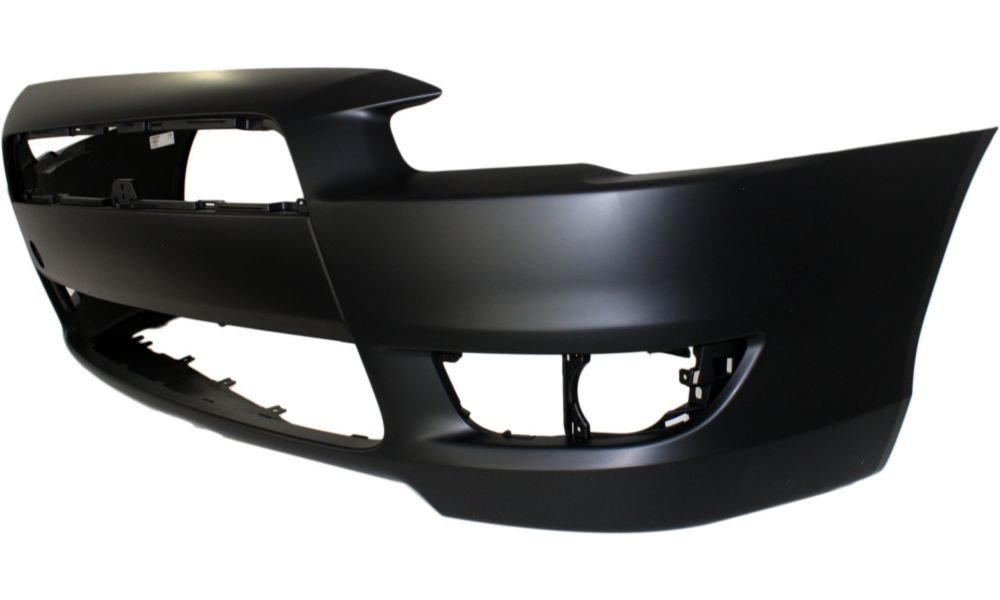 New Evan-Fischer EVA17872043573 Front BUMPER COVER Primed Direct Fit OE REPLACEMENT for 2008-2015 Mitsubishi Lancer *Replaces Partslink MI1000324