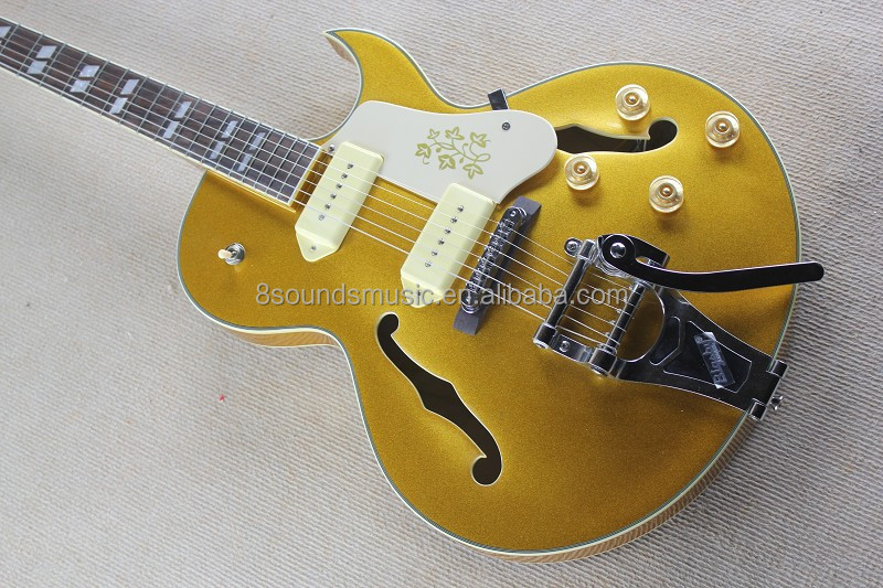 wholesale jazz guitars beautiful color Archtop style electric guitar hollow body jazz Guitar