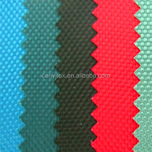 600D eco friendly polyester oxford fabric