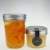 Honey bee glass mason jar jelly jam salad mousse glass jar with aluminium cap  lid for canned