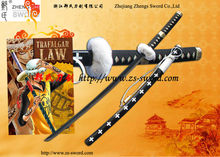 One Piece Anime sword White Trafalgar Law Sword Manga Sword