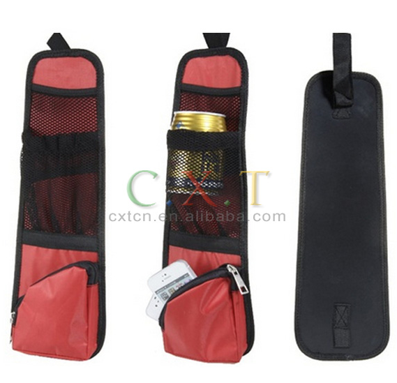 car organizer seat back pocket/auto back seat pocket cover/seat pocket cover
