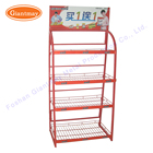 supermarket light weight metal wire baskets food store shelf