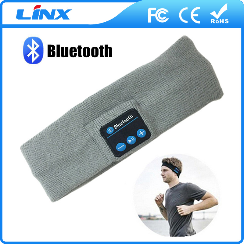 Christmas Gifts! Bluetooth Beanie Hat Built-in Headphone Microphone for Music