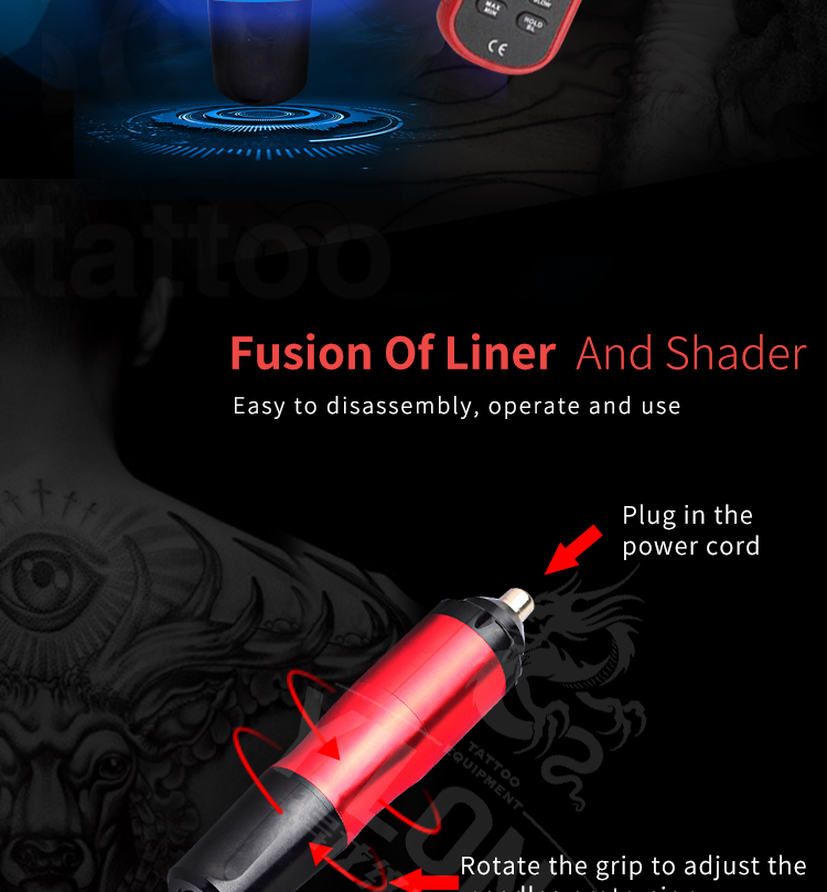 Yilong machinetattoo Tattoo Pen for sale for tattoo-10