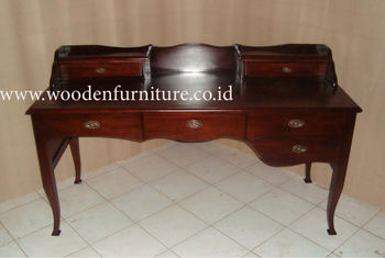 Desk Antique Reproduction Clic Study Table French Style Writing Vintage Secretary European Home Office Furniture